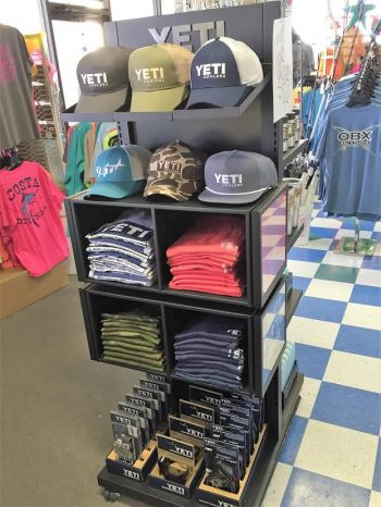 OBX Bait and Tackle Corolla Outer Banks, Yeti Hats and Shirts